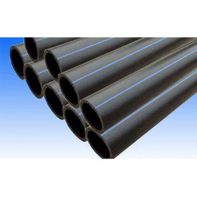 Trenchless HDPE solid wall drain pipe